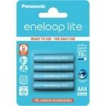 Аккумулятор PANASONIC Eneloop Lite AAA 550mAh NI-MH * 4 (BK-4LCCE/4BE)