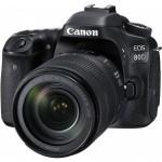 Цифровой фотоаппарат Canon EOS 80D 18-135 IS USM WiFi (1263C040)