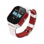Смарт-часы GoGPS К23 white/red Детские телефон-часы с GPS треккером (K23WHRD)