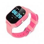Смарт-часы GoGPS К23 Pink Детские телефон-часы с GPS треккером (K23PK)