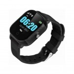 Смарт-часы GoGPS К23 Black Детские телефон-часы с GPS треккером (K23BK)