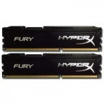 Модуль памяти DDR-3 16GB (2x8GB) 1866 MHz HyperX FURY Black Kingston (HX318C10FBK2/16)