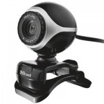 Веб-камера TRUST EXIS WEBCAM BLCK-SLVR (17003)