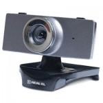 Веб-камера REAL-EL FC-140, grey