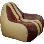 Пуф ПРИМТЕКС ПЛЮС кресло-груша Simba Sport H-2201/H-002 S Beige-Brown (Simba Sport H-2201/H-002 S)
