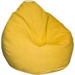 Пуф ПРИМТЕКС ПЛЮС кресло-груша Tomber OX-111 M Yellow (Tomber OX-111 M Yellow)