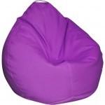 Пуф ПРИМТЕКС ПЛЮС кресло-груша Tomber OX-339 M Purple (Tomber OX-339 M Purple)