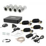 Комплект видеонаблюдения Tecsar AHD 4OUT + HDD 500GB (6756)