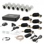 Комплект видеонаблюдения Tecsar AHD 6OUT (6642)