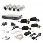 Комплект видеонаблюдения Tecsar AHD 4OUT LUX (6526)