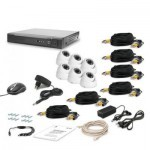 Комплект видеонаблюдения Tecsar AHD 6OUT-DOME LUX (6646)