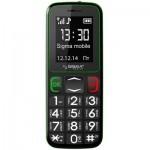 Мобильный телефон Sigma Comfort 50 mini3 Black Green (6907798337322)