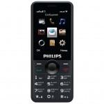 Мобильный телефон PHILIPS Xenium E168 Xenium Black