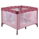 Детский манеж Bertoni/Lorelli PLAY STATION Pink elephant (20490)