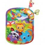 Детский коврик Playgro Зоопарк (с подушечкой) (0186988)