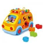 Развивающая игрушка Huile Toys Веселый автобус (988)