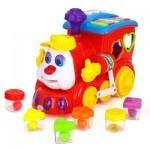 Развивающая игрушка Huile Toys Паровозик (556)