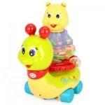 Развивающая игрушка Huile Toys Сверкающая улитка (576)