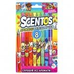 Набор для творчества Scentos Ароматные гелевые ручки ФЕЕРИЯ АРОМАТОВ 8 цв (41203)