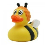 Игрушка для ванной LiLaLu Пчелка утка (L1890)