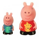 Игрушка для ванной PEPPA Брызгунчиков Пеппа и Джордж (27132)