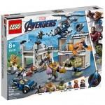 Конструктор LEGO Marvel Comics Битва на базе Мстителей 699 деталей (76131)