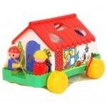 Развивающая игрушка Полесье Игровой дом (6202)
