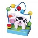 Развивающая игрушка Viga Toys Мини-лабиринт Корова (59661)