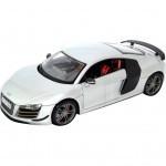 Машина Maisto Audi R8 (1:18) белый (36143 white)