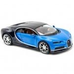 Машина Maisto Bugatti Chiron (1:24) синий металлик (31514 met. blue)