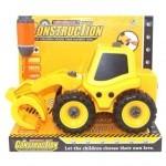 Машина Kaile Toys Трактор с погрузчиком, разборная модель с отверткой (KL702-5)