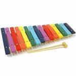 Музыкальная игрушка Мир деревянных игрушек Ксилофон 15 тонов (Д047)