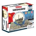 Пазл 4D Citysсape Шанхай, Китай (40040)
