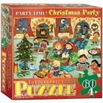 Пазл EuroGraphics Рождественная вечеринка 60 элементов (6060-0469)