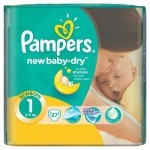 Подгузник Pampers New Baby Newborn (2-5 кг), 27шт (4015400264453)