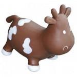 Попрыгун KidzzFarm Коровка Бетси шоколадно-белая (с насосом) Milk Cow Betsy (KFMC130307)