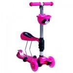 Скутер BabyHit Fun Pink (14105)