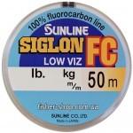 Флюорокарбон Sunline SIG-FC 50м 0.415мм 10.9кг поводковый (1658.01.45)