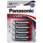 Батарейка PANASONIC EVERYDAY POWER AA BLI 4 (LR6REE/4BR)