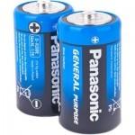 Батарейка PANASONIC R20 PANASONIC * 2 (R20BER/2P)