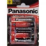 Батарейка PANASONIC R20 PANASONIC Special * 2 (R20REL/2BPU)