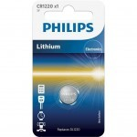 Батарейка PHILIPS CR1220 PHILIPS Lithium (CR1220/00B)