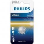 Батарейка PHILIPS CR1620 PHILIPS Lithium (CR1620/00B)