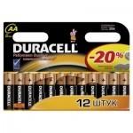 Батарейка Duracell AA MN1500 LR06 * 12 (81367213)