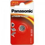 Батарейка PANASONIC CR 1216 * 1 LITHIUM (CR-1216EL/1B)