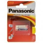 Батарейка PANASONIC CR 123 * 1 LITHIUM (CR-123AL/1BP)