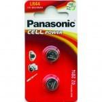 Батарейка PANASONIC LR44 * 2 Alkaline (LR-44EL/2B)