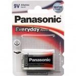 Батарейка PANASONIC Крона 6LR61 Everyday Power * 1 (6LR61REE/1BR)