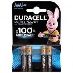 Батарейка Duracell Ultra Power AAA LR03 * 4 (5004806)