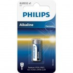 Батарейка PHILIPS 8LR932 (MN21, A23, V23GA, LRV08) Alkaline * 1 (8LR932/01B)